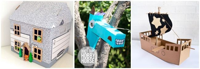Creating From Our Recycle Bin – 30 Of THE Best Cardboard Box Crafts