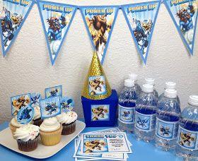 Skylanders Party Supplies UPrint at www.SkylandsAndBeyond.com