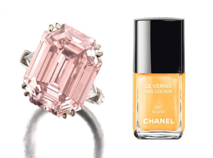 Click to see our gallery for  Engagement Ring-Nail Polish Combos! | E! Online