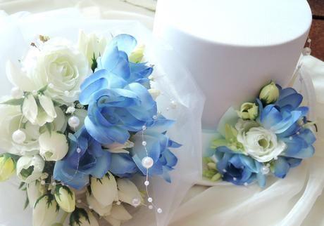 """svatební auto - """"Modré z nebe pro dva"""","""