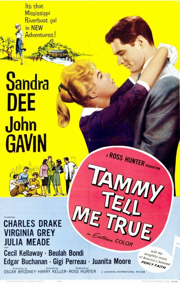 Tammy Tell Me True {1961}  SANDRA DEE---ONE OF THE GREATEST\  ESP IN IMTATION OF LIFE MY ALL TIME FAVORITE