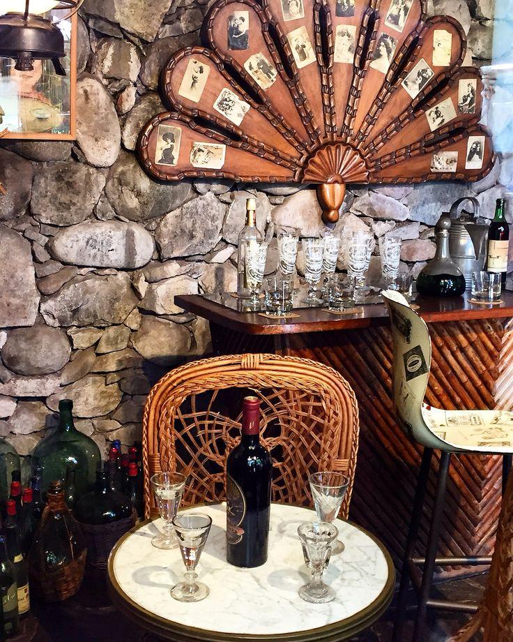 Bar at La Chascona, home of Pablo Neruda