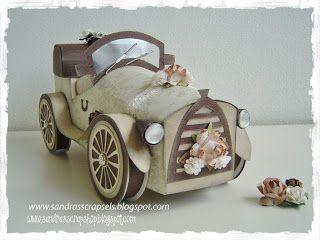 Sandra's Scrapshop: # 16 Auto patroon / Car template