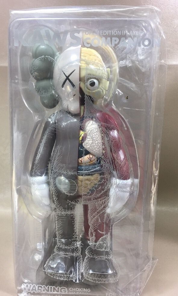 Kaws Brown  Flayed Where The End Starts Dissected Companion Fort Worth Modern  | eBay