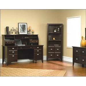 sauder office furniture collections | Sauder Shoal Creek Executive Office Desk at BigFurnitureWebsite