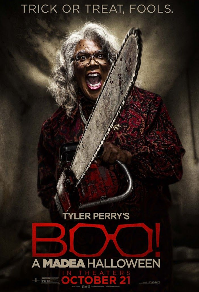 BOO! A MADEA HALLOWEEN movie poster No.6 Madea halloween
