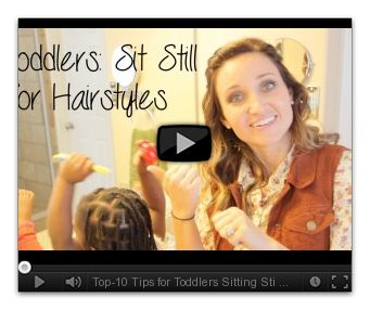 Top-10 Tips for Toddlers Sitting Still During Hairstyles