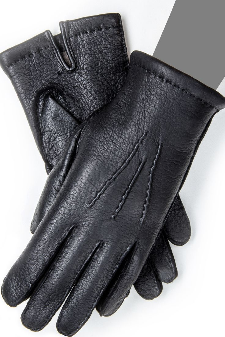 Gaspar leather driving gloves - 3004pec Men S Cold Weather Luxury Leather Gloves