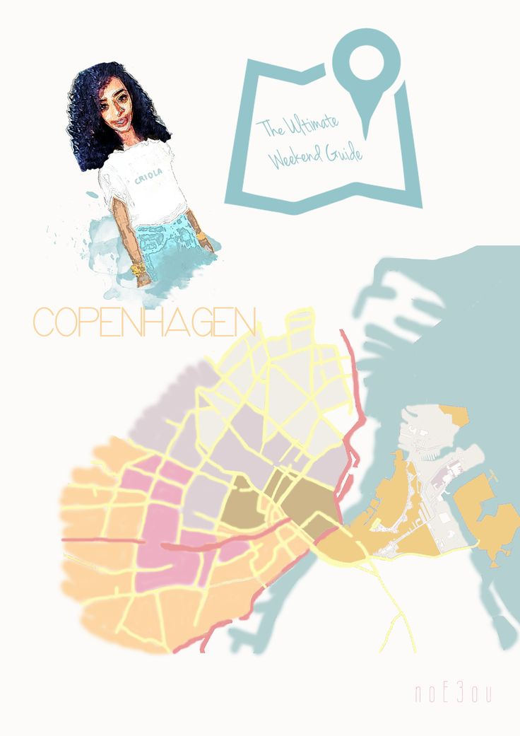 illustration of CPH, ultimate weekend guide from noE3ou