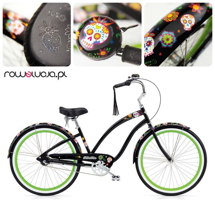 Masz już kompana na długi weekend? Wybierz rower Electra Sugar Skulls: http://goo.gl/wd952p  Powiedz nie - korkom na mieście! Powiedz nie – nudzie i szarej codzienności! Powiedz TAK – wyróżnianiu się z tłumu! Niech Cię zauważą!