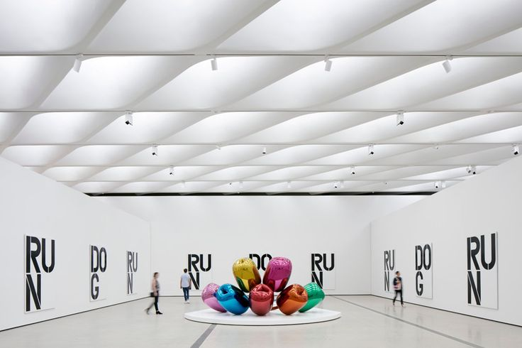 The Broad Museum. Opened this past September. The fashion-lovers marvel at the collection of blue-chip paintings and sculptures of their fave artists, from Takashi Murakami (of Louis Vuitton fame) to H