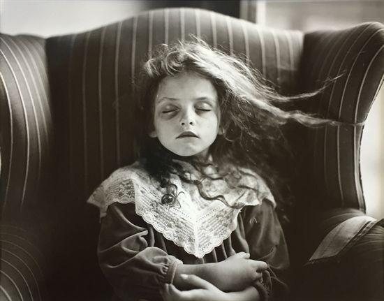 Sally Mann, photo (born 1951, USA) | Black Eye, 1991