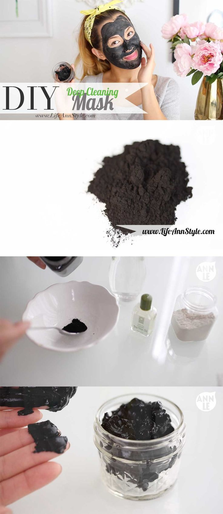 DIY Volcanic Acne and Skin Cleansing Face Mask | lifestyle: