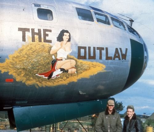 Nose Art - The Outlaw