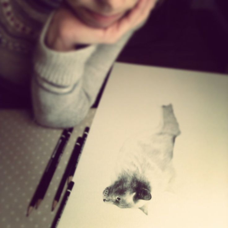 Me and my drawing