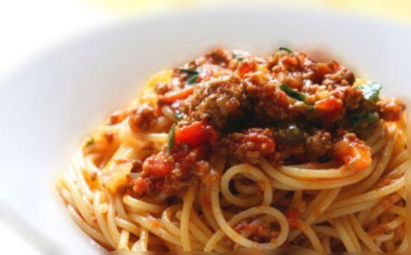 Biber Salçalı Spagetti