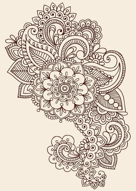Tattoo Design on Pinterest | Paisley Tattoos Paisley Tattoo Sleeve ...