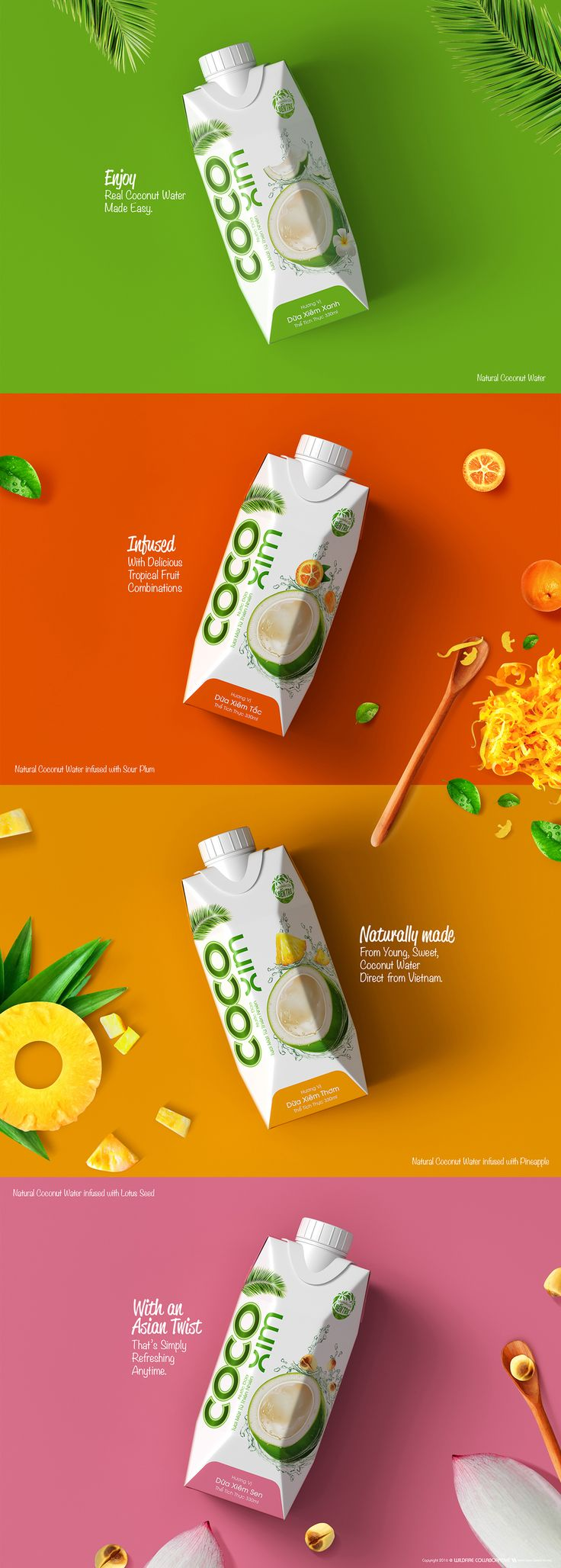 Few things are more refreshing than a cold bottle of coconut water. CocoXim Coconut Water takes that freshness and the relaxation of island life along with delicious flavors.