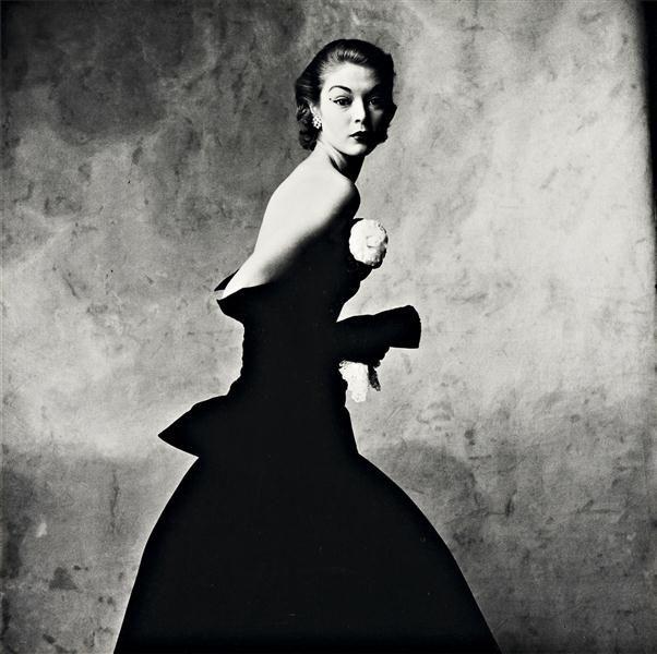 IRVING PENN  Woman with Handkerchief (Jean Patchett), New York, 1951