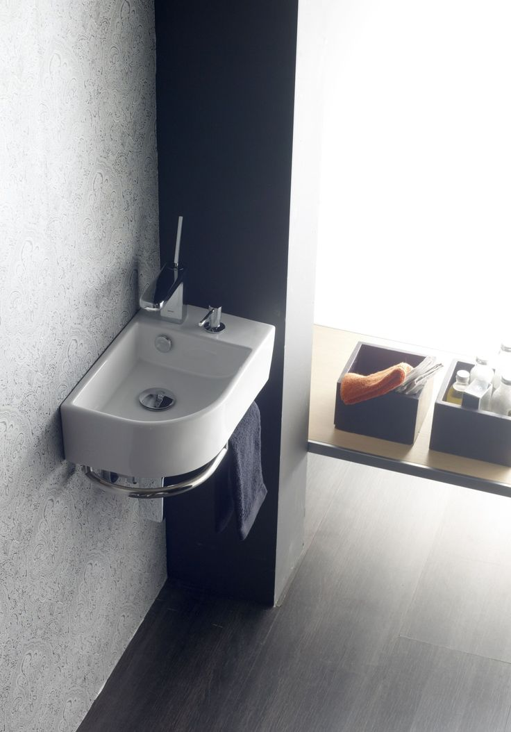 25 best lavabos de porcelana mini images on pinterest for Lavabo esquinero