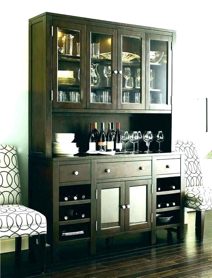 Modern China Cabinet Display Ideas Decorating For Fall In