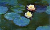 Cuadros de Monet Flor de Loto