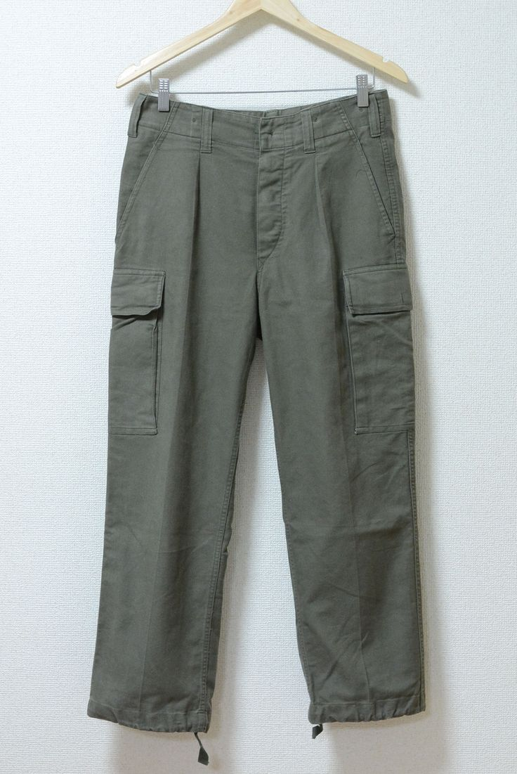 USED&VINTAGE90's ドイツ軍 カーゴパンツ ¥3,000 (TAX IN)