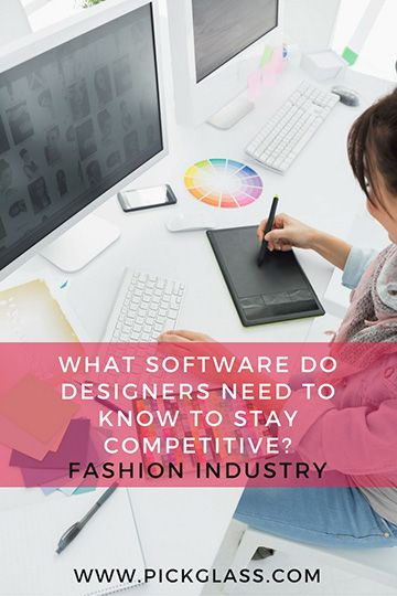 What CAD Software Do Fashion Designers Need To Know? http://pickglass.com/cad-software-fashion-design/