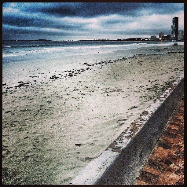 Winter seascape. Strand Beach. South Africa. @Daniel Morgan Morgan Zarem BM