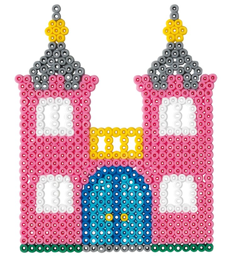 Fairy castle Hama beads - 4021 - HAMA