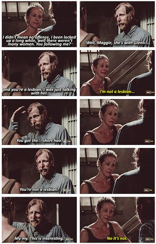 The Walking Dead ...love this scene!