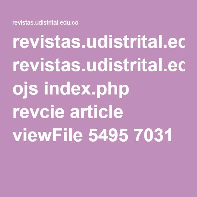 revistas.udistrital.edu.co ojs index.php revcie article viewFile 5495 7031