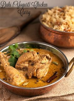 Dahi Chicken Curry, Doi Murgh
