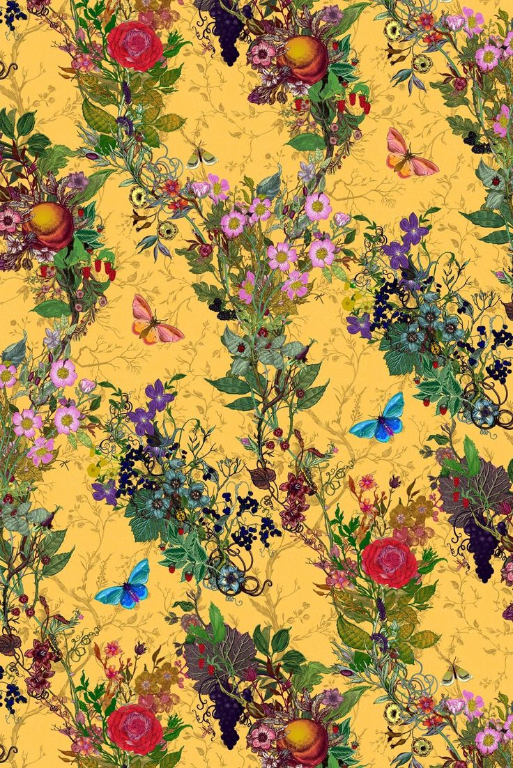 Timorous Beasties Fabric - Bloomsbury Garden