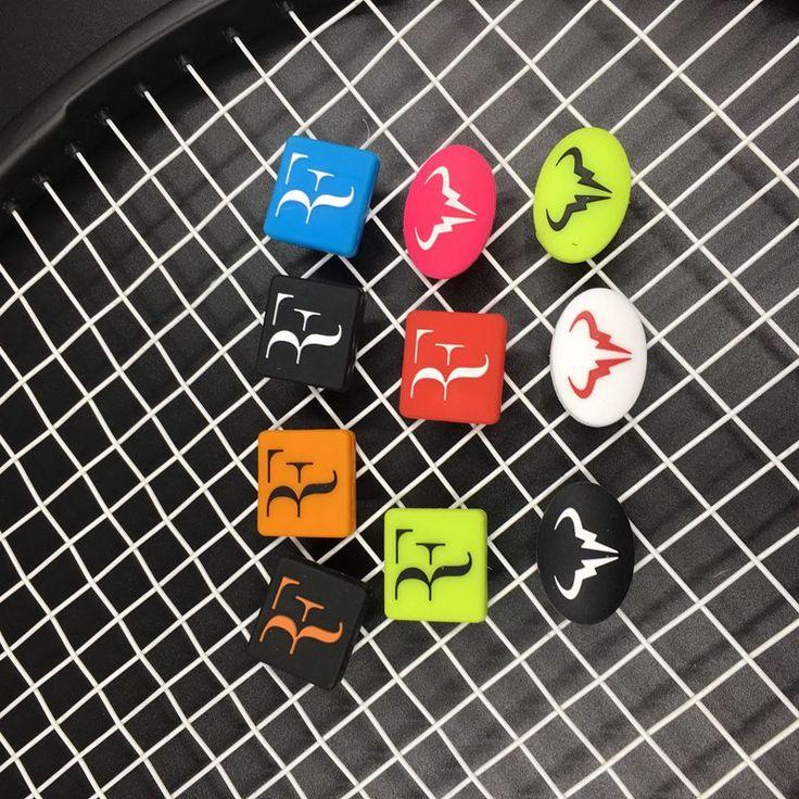 Free shipping(50pcs/lot)ZARSIA 2016 Newest Roger Federer and Rafael Nadal vibration dampeners/tennis racket/tennis racquet
