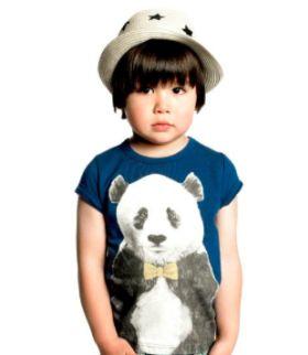 Rock Your Baby Zhu Panda Short Sleeve Tee