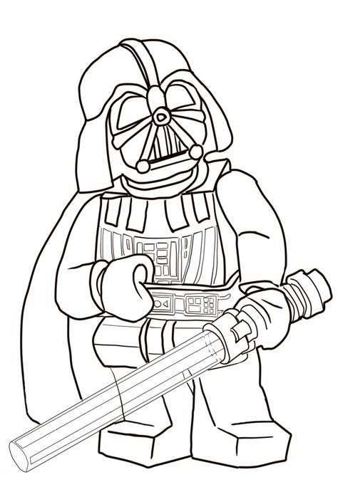 Darth Vader Coloring Pages | Lego, Star wars