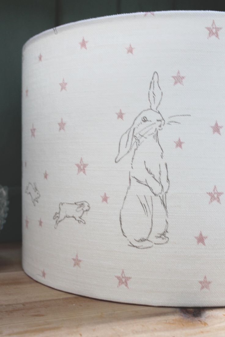 Bunny Star Lamp Shade