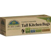 If You Care Compostable Tall Bin Bags - 49L - 12 Bags - If You Care