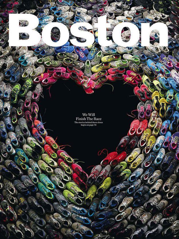Couverture du Boston Magazine