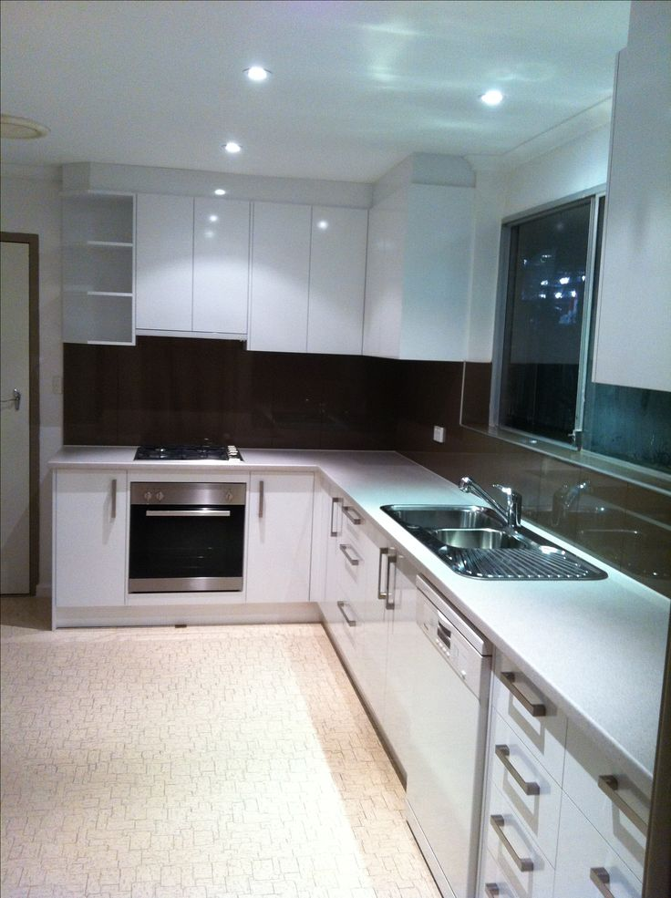 1 Mm Pvc Edge Polar White Silk Board Kitchen With Laminex Bench Tops Be Cautious Splash Back