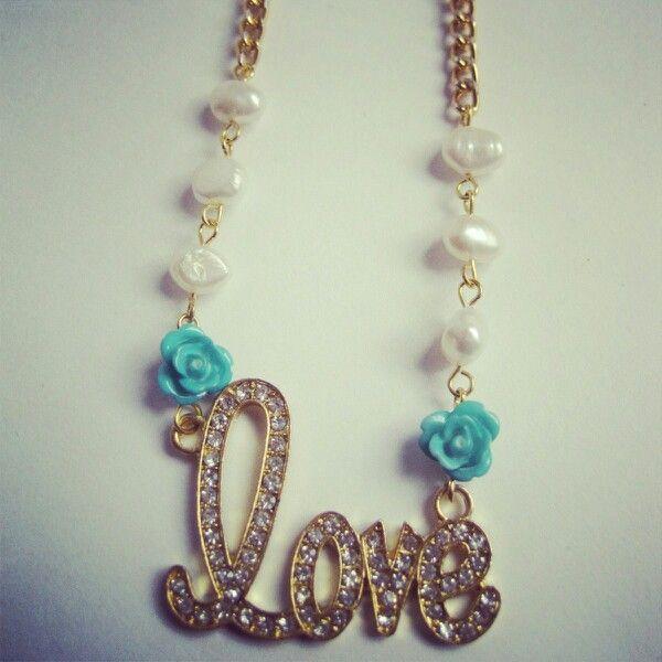 Collar love  MAR ACCESORIOS