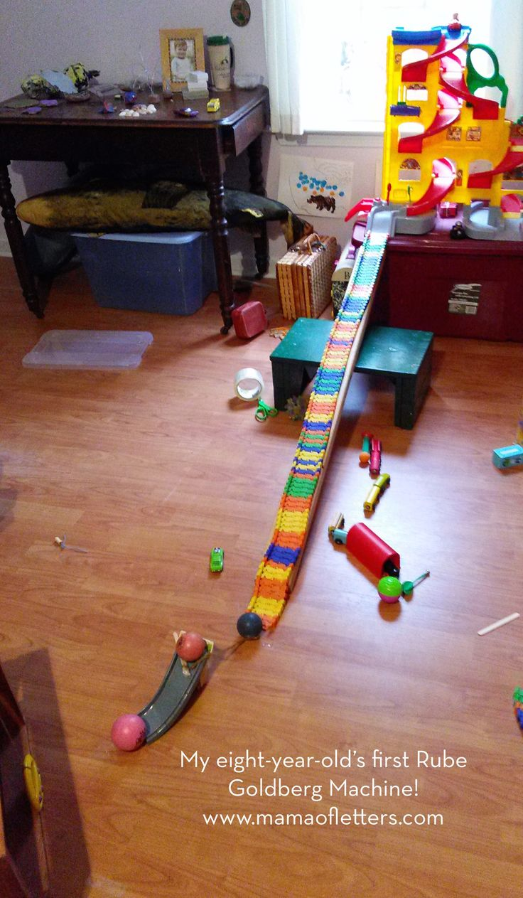 Project-based Homeschooling: Rube Goldberg Machine