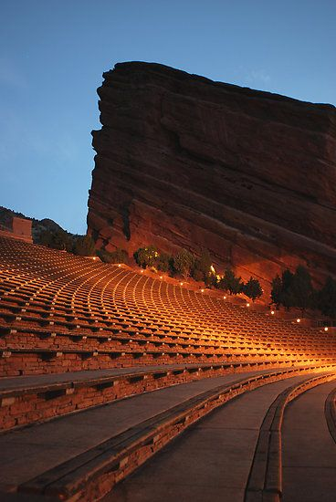 Red Rocks Amphitheater--fabulous music venue and also where a wonderful sunrise Easter service takes place.