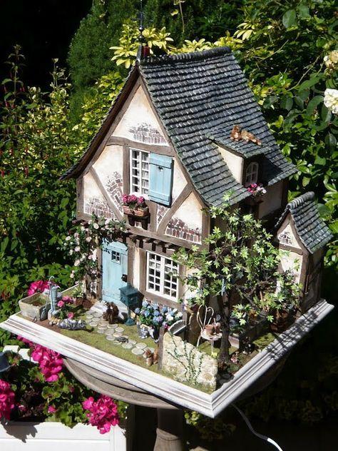 Beautiful House Garden Photo: 17 Best Ideas About Miniature Houses On Pinterest