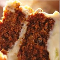 Rob's Carrot Cake With Pineapple Walnuts and Raisins Recipe