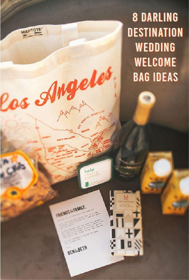 8 Destination Wedding Welcome Bag Ideas – Hochzeitsgeschenk