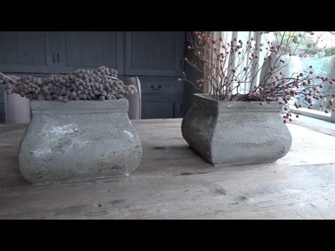 DIY decoratie met betonnen look ★ Muurvuller Action - YouTube