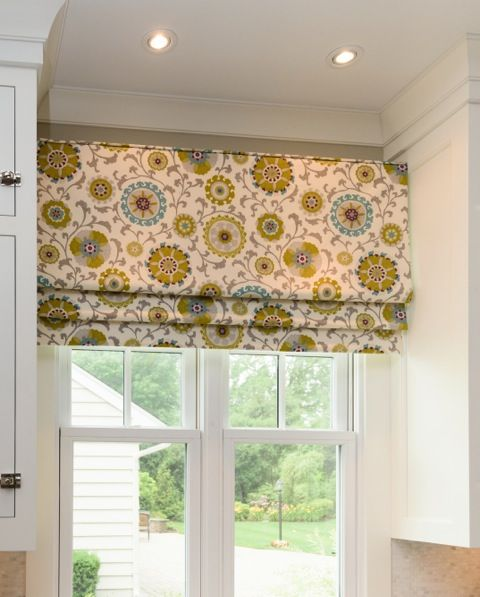 433 best images about roman shades on pinterest window for Roman blinds kitchen ideas