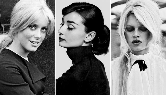Расслабленная и женственная укладка, подчеркнутая объемным начесом, челкой или аксессуаром в виде красивой ленты, — один из лучших вариантов прически на весну, вдохновленный эстетикой 60-х